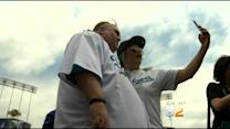 Dancing Man Takes Anti-Bullying Message To Dodgers Stadium