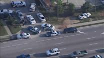 Deputies search for suspects following chase, lockdown
