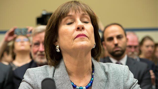 IRS official remains silent at fiery House hearing