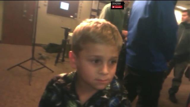 Boy saves family from Midwest tornado