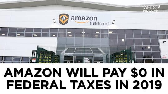 why did amazon pay no taxes