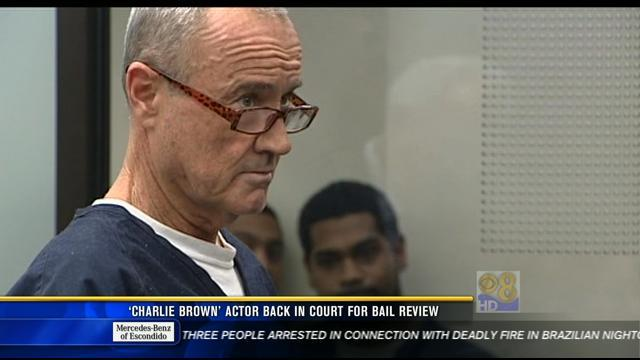 'Charlie Brown' actor back in court for bail review