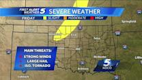 First Alert Weather for Wednesday, October 2nd