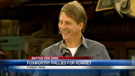 Foxworthy, Romney son campaign for GOP ticket