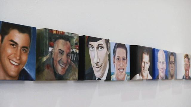 Exhibit features portraits of fallen service members