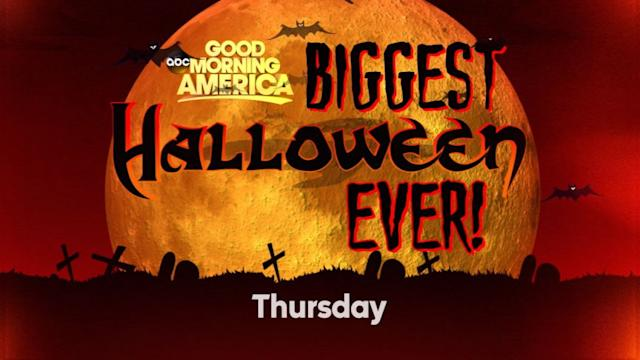 Countdown to GMA's Halloween Red Carpet