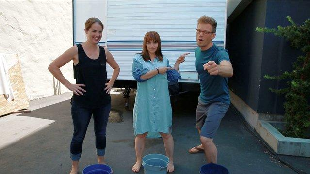 NCIS: LA - Barrett Foa and Renee Felice Smith's Ice Bucket Challenge