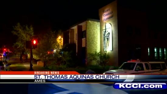 Officials call church fire suspicious