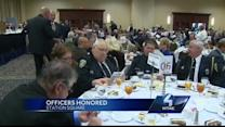 Ohio Township officers honored for heroism