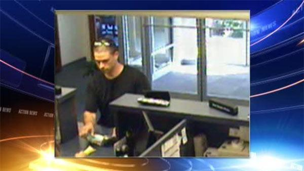 Suspect sought in East Pikeland bank robbery