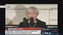 Yellen accepts Fed Chair nomination