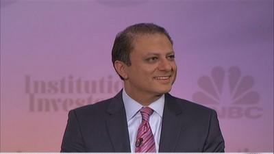 Cramer with Preet Bharara: 'It's rare to charge a company...