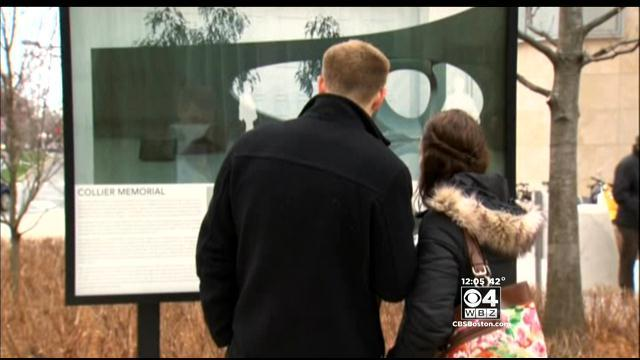 MIT Police Officer Sean Collier Honored In Ceremony Of Remembrance