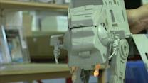 """With new """"Star Wars"""" movie due to land, old toys go galactic"""