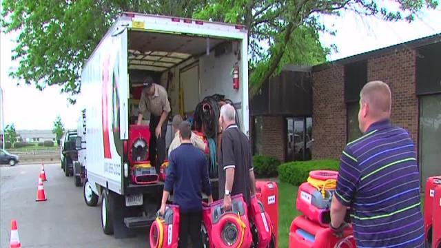 Recovery crews heading to Oklahoma