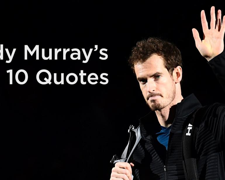 Andy Murrays Career In Quotes I Do Have A Sense Of Humour Video