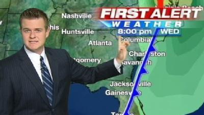 Monday Afternoon First Alert Forecast
