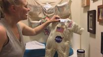 Dad Turns Baby Daughter's Sleeping Suit Into Astronaut Outfit, Surprises Wife