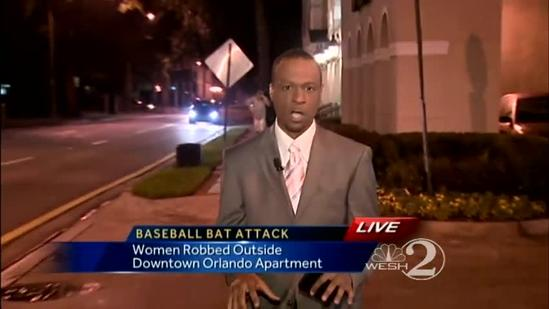 Search on for man who attacked women with baseball bat