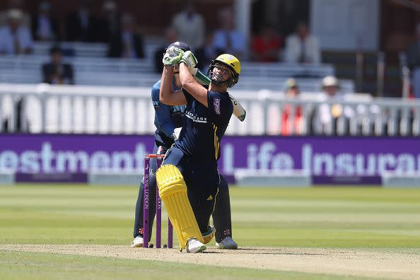 Rossouw during Kent v Hampshire: Royal London One-Day Cup Final