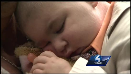 Dying 2-year-old serves as best man for parents' wedding