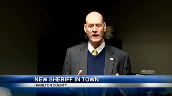 New sheriff set to take charge of office