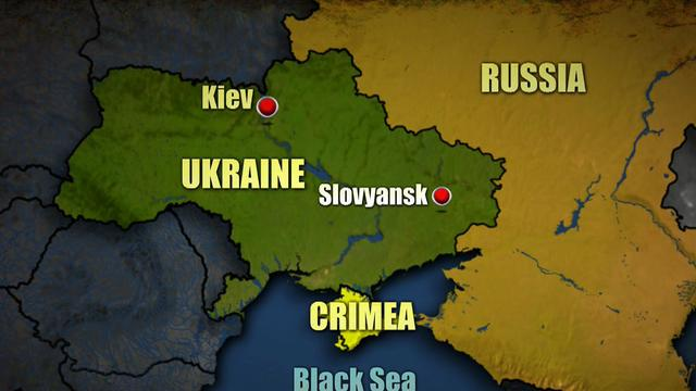 Helicopter shot down in Ukraine, 14 killed
