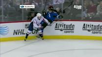 Alex Ovechkin lines up Hejda with big hit