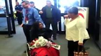 Injured soldier returns home to Maine