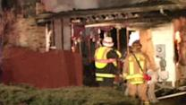 Fire blamed for partial building collapse in Bethlehem Twp.