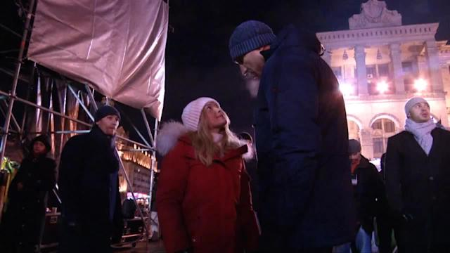 Hayden Panettiere joins Klitschko at Kiev protest