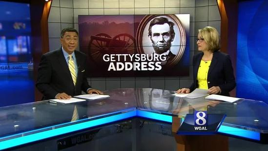 Thousands watch re-telling of Gettysburg Address