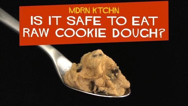 Is It Safe to Eat Raw Cookie Dough?