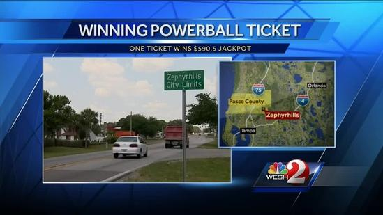 Zephyrhills abuzz after Powerball ticket sold at Publix