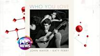 John Mayer and Katy Perry Reveal Intimate Cover Art