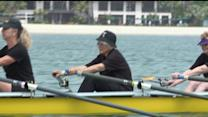 90-Year-Old Woman Rows To Stay Young