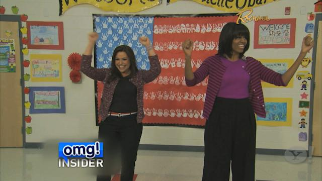 Michelle Obama & Rachael Ray Take a Bite Out of Childhood Obesity