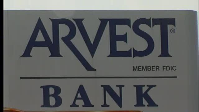 Arvest bank robbed