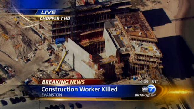 Michael Kerr, construction worker, killed at Northwestern University