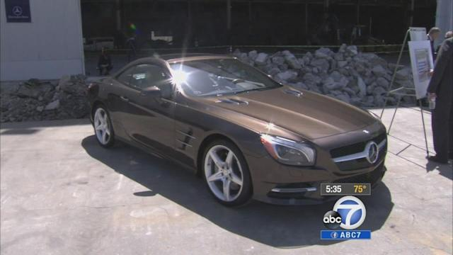 VIDEO: Mercedes-Benz breaks ground for Long Beach facility