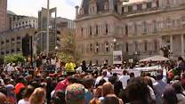 Thousands Gather for Baltimore Rally