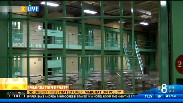 San Diego Sheriff's Dept. will no longer hold jailed undocumented immigrants past release date
