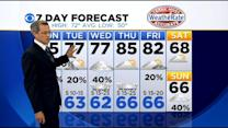 Jeff Ray's Sunday Weather Forecast