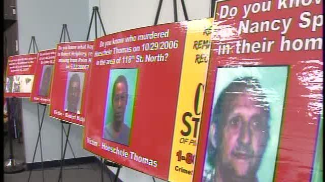 Crime Stoppers' new cold case billboards