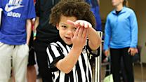 Adorable Referee Steals the Show