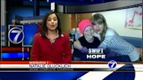 Taylor Swift inspires young cancer patient