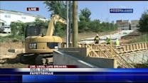 Fuel spill latest safety problem at construction site
