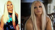 Actress is Deadringer for Donatella Versace