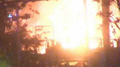 Fuel Barges Explode, Cause Large Fire in Mobile