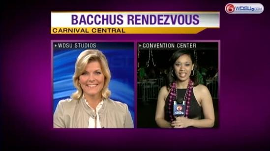 Celebrities honored as the Krewe of Bacchus rolls Uptown